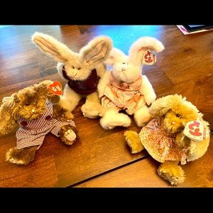 Ty Bunnies the attic treasured collectibles